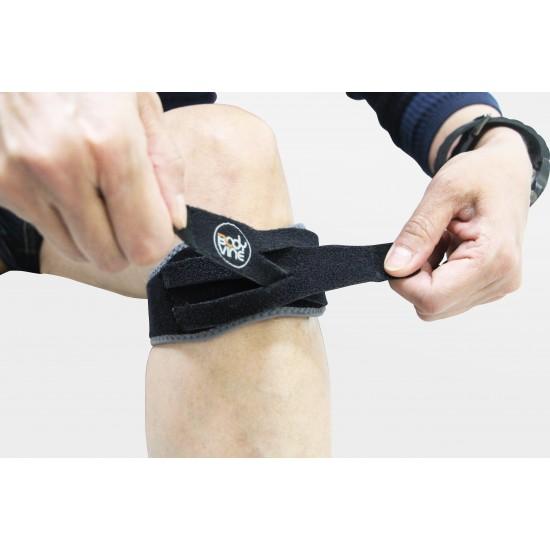 Adjustable Power Wrap Patella Strap Double Support - Állítható Patella Pánt Dupla támogatással