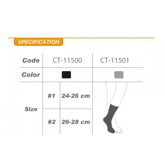 Compression Taping Arch Support Socks Crew (pair) - Kompressziós Szalagos Talpív Támogató Zokni Crew (pár)