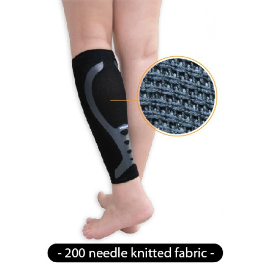 Graduated Compression Calf Sleeve Silky Hi-Power (pair) - Fokozatos Kompressziós Vádli Védő Silky Hi-Power (pár)