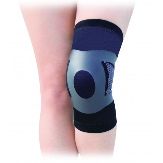 Compression Taping Elastic Knee Stabilizer - Kompressziós Szalagos Rugalmas Térd Rögzítő