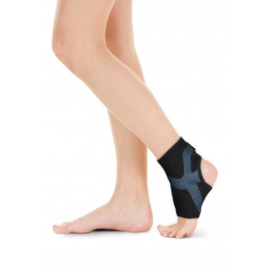 Triple Compression Ankle Stabilizer Blue - Tripla Kompressziós Boka Rögzítő Kék