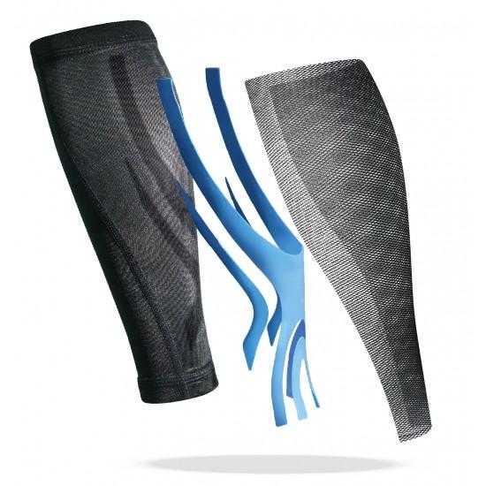 Triple Compression Calf Sleeve Blue (pair) - Tripla Kompressziós Vádli Védő Kék (pár)