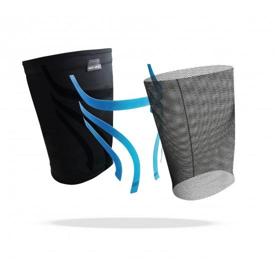 Triple Compression Thigh Sleeve Grey (pair) - Tripla Kompressziós Comb Védő Szürke (pár)