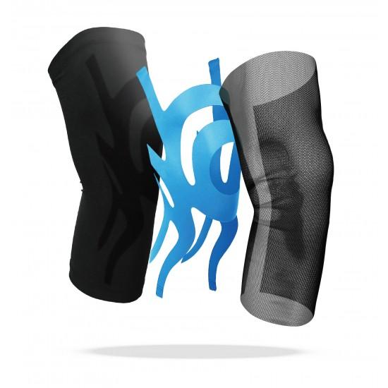 Triple Compression Knee Stabilizer Grey - Tripla Kompressziós Térd Rögzítő Szürke