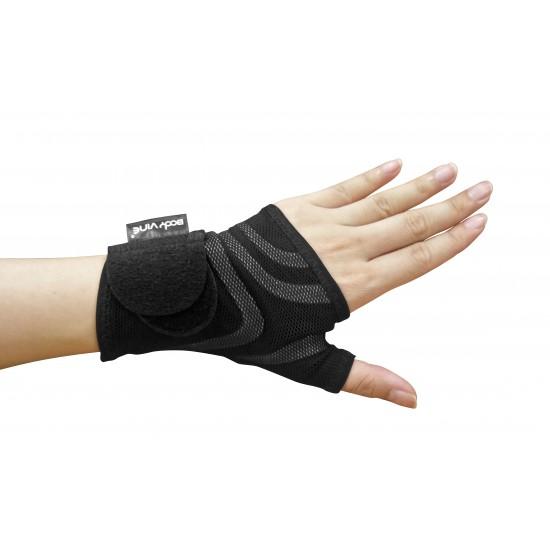 Triple Compression Wrist Stabilizer Grey Comfort - Tripla Kompressziós Csukló Rögzítő Szürke Komfort