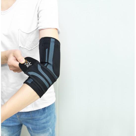 Triple Compression Elbow Stabilizer Grey - Tripla Kompressziós Könyök Rögzítő Szürke