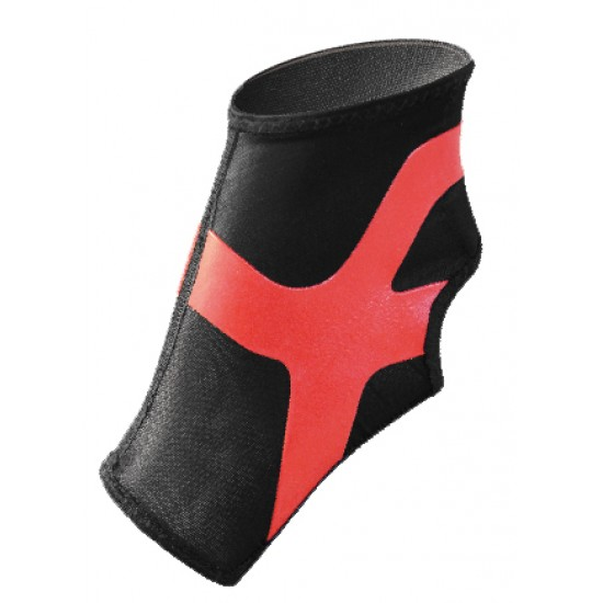 Ultrathin Compression Ankle Stabilizer Plus Red - Ultravékony Kompressziós Boka Rögzítő Plus Piros