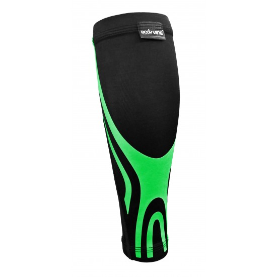 Ultrathin Compression Calf Sleeve Plus Green (pair) - Ultravékony Kompressziós Vádli Védő Plus Zöld (pár)