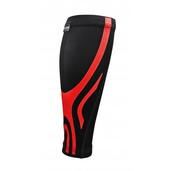 Ultrathin Compression Calf Sleeve Plus Red (pair) - Ultravékony Kompressziós Vádli Védő Plus Piros (pár)