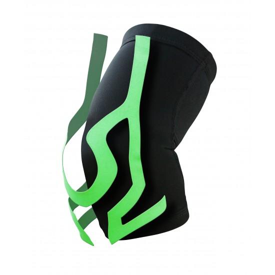 Ultrathin Compression Elbow Stabilizer Plus Green - Ultravékony Kompressziós Könyök Rögzítő Plus Zöld