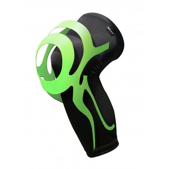 Ultrathin Compression Knee Stabilizer Plus Green - Ultravékony Kompressziós Térd Rögzítő Plus Zöld