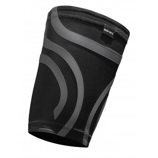 Ultrathin Compression Thigh Sleeve Plus Black (pair) - Ultravékony Kompressziós Comb Védő Plus Fekete (pár)