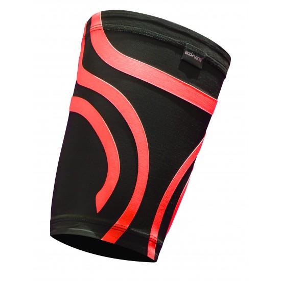 Ultrathin Compression Thigh Sleeve Plus Red (pair) - Ultravékony Kompressziós Comb Védő Plus Piros (pár)