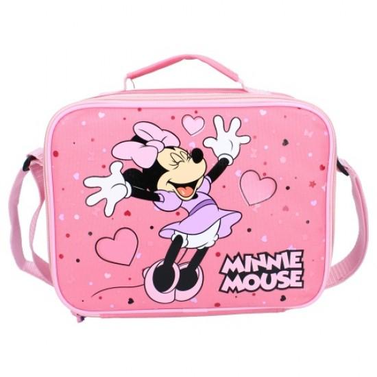 Minnie Egér uzsonnás táska 25 cm