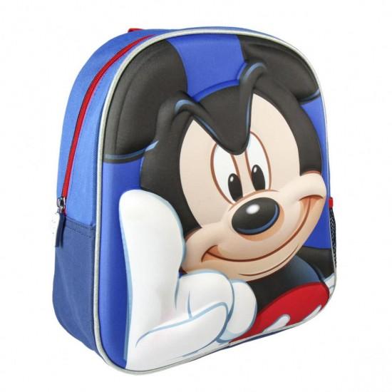 Mickey Egér 3D hátizsák 31 cm