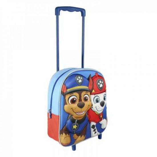 Paw Patrol 3D gurulós táska 37 cm