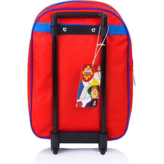 Tűzoltó Sam gurulós táska 39 cm