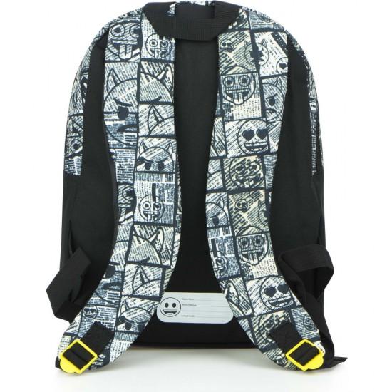 Emoji, ördög hátizsák 38 cm