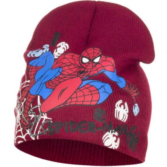 Spiderman kötött sapka