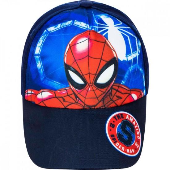 Spiderman Baseball sapka, kék